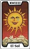 tarot de la amistad El Sol