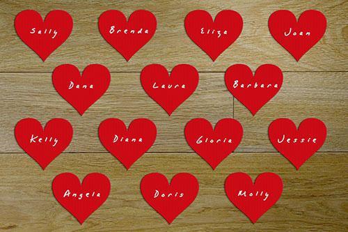 Compatibilidad de nombres en el amor