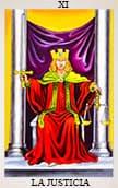 tarot del amor La Justicia
