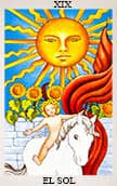 tarot del amor El Sol