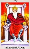 tarot del amor El Emperador
