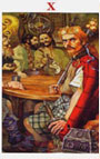 tarot celta La Rueda de la Fortuna
