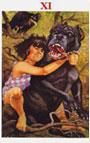 tarot celta La Fuerza