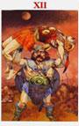 tarot celta El Colgado