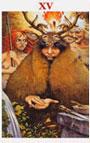 tarot celta El Diablo