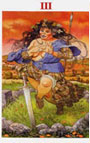 tarot celta La Emperatriz