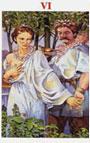 tarot celta Los Enamorados