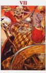 tarot celta El Carro