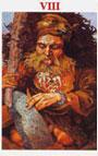tarot celta La Justicia