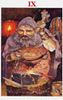 tarot celta El Ermitaño