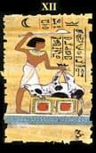 tarot egipcio El Colgado