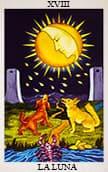 tarot gratis La Luna