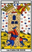 tarot de marsella La Torre