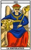tarot de marsella La Emperatriz