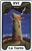 tarot del trabajo La Torre