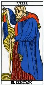 Significado de la carta El Ermitaño