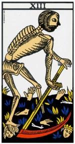 Significado de la carta La Muerte