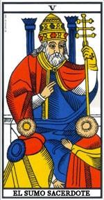 Significado de la carta El Sumo Sacerdote