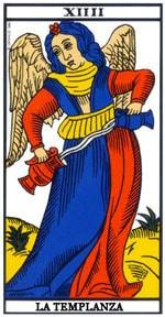 Significado de la carta La Templanza